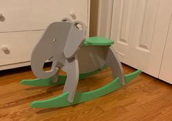 Chaise basculante Élephant