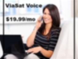add viasat home phone service