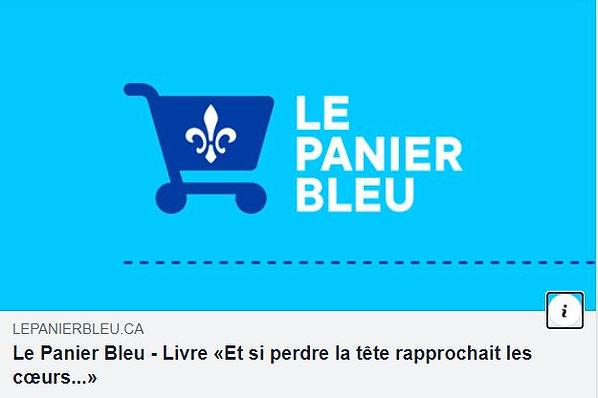 Le Panier Bleu - Livre «Et si perdre la tête rapprochait les coeurs...