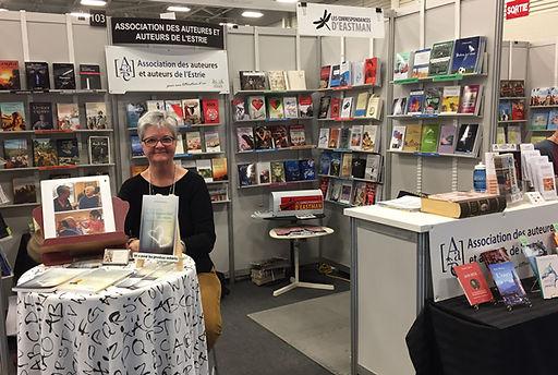 Salon du livre de l'Estrie 2019 - Séance de signatur