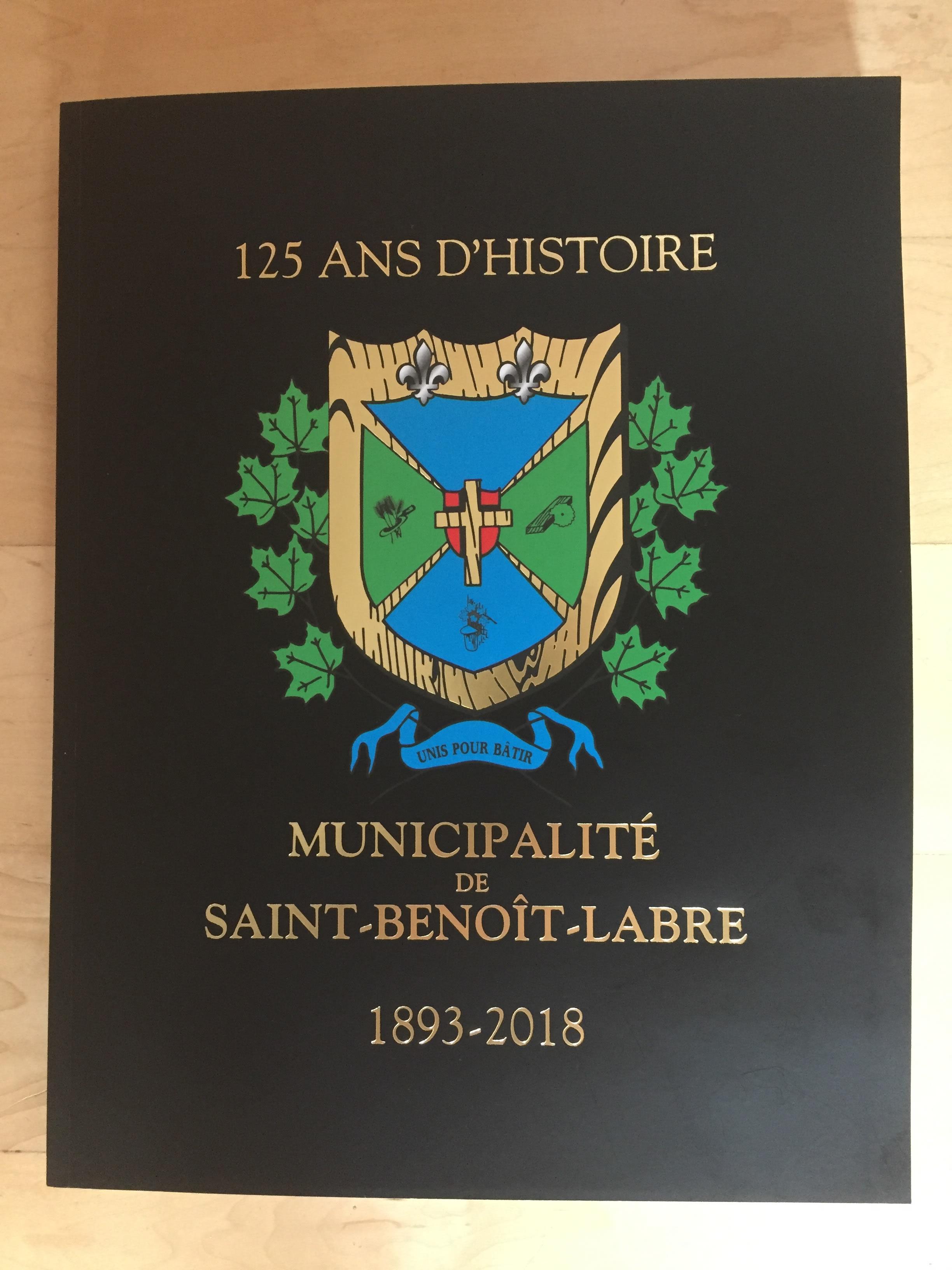 Livre 125 ans d'histoire