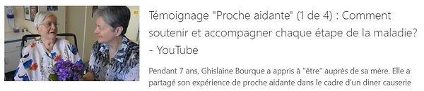 Entrevue audio avec Ghislaine Bourqu