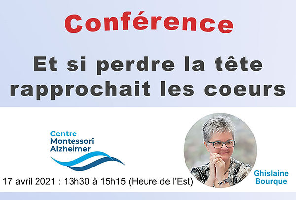 Conférence 17 avril 2021 - Ghislaine Bourque