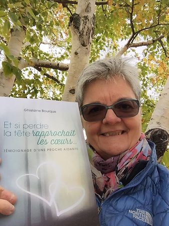 Ghislaine Bourque Livre témoignage