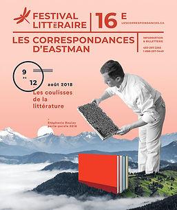 Affiche Les correspondances d'Eastman 2018