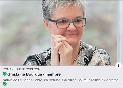 Ghislaine Bourque - Romans québécois