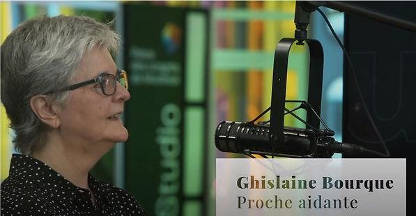 Balado Appui Ghislaine Bourque - Proche aidante