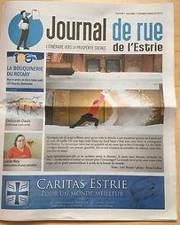 Journal de rue de l'Estrie