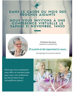 invitation conférence Zoom - Québec