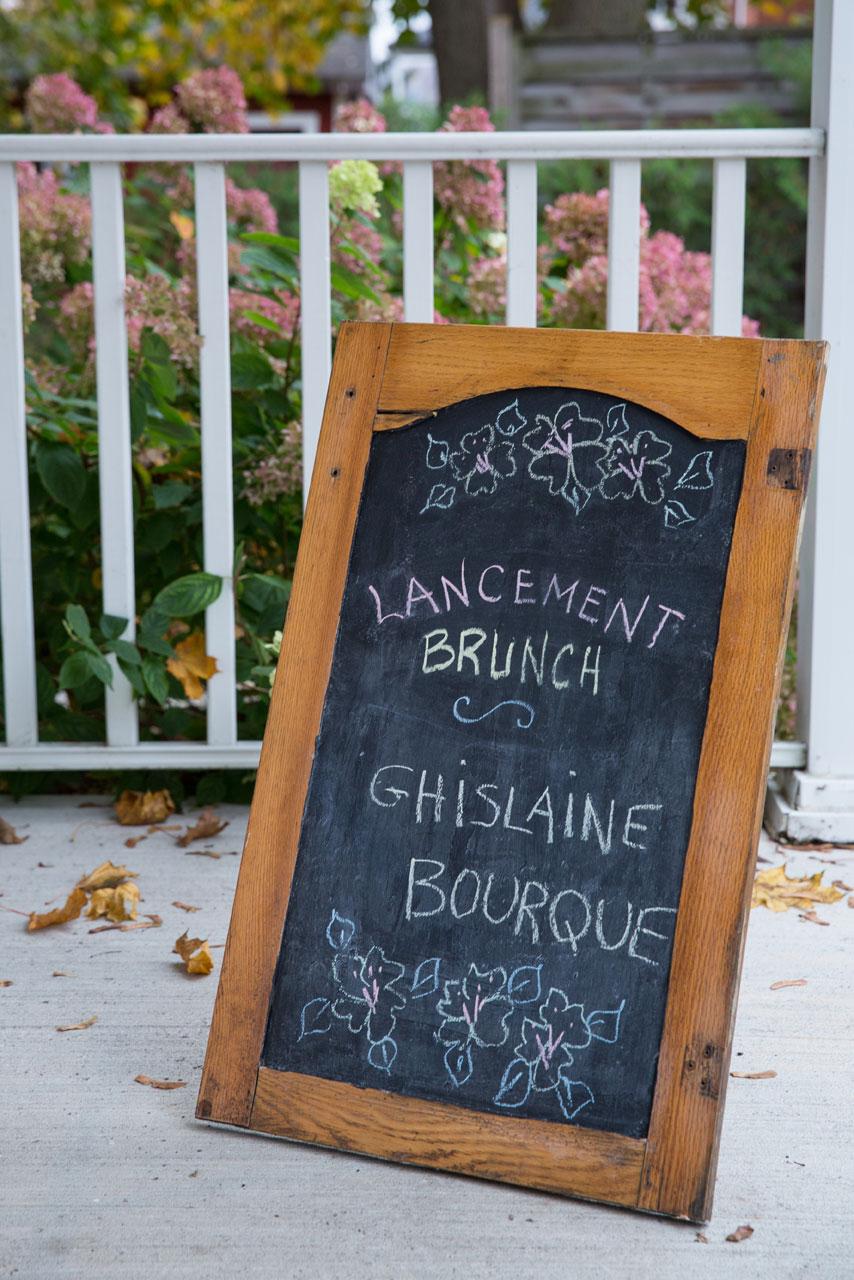 Lancement - Ghislaine Bourque