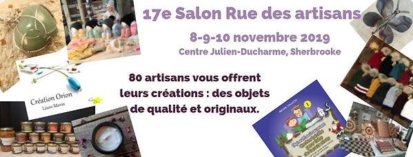 Logo du 17e Salon Rue des artisans Fleurimont