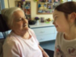 Lori-Anne et son arrière-grand-mère