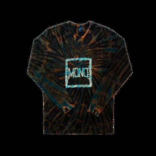 Longsleeve Mono Turquoise/Black