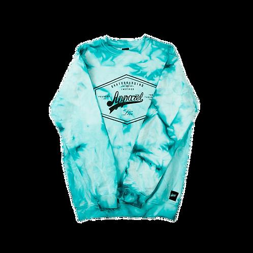 Sweatshirt Lozenge Stoned Turquoise