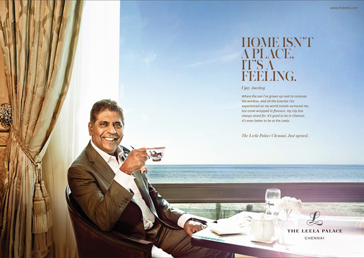 The Leala Palace - Vijay Amritraj
