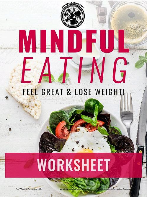 Mindful Eating Companion Worksheet