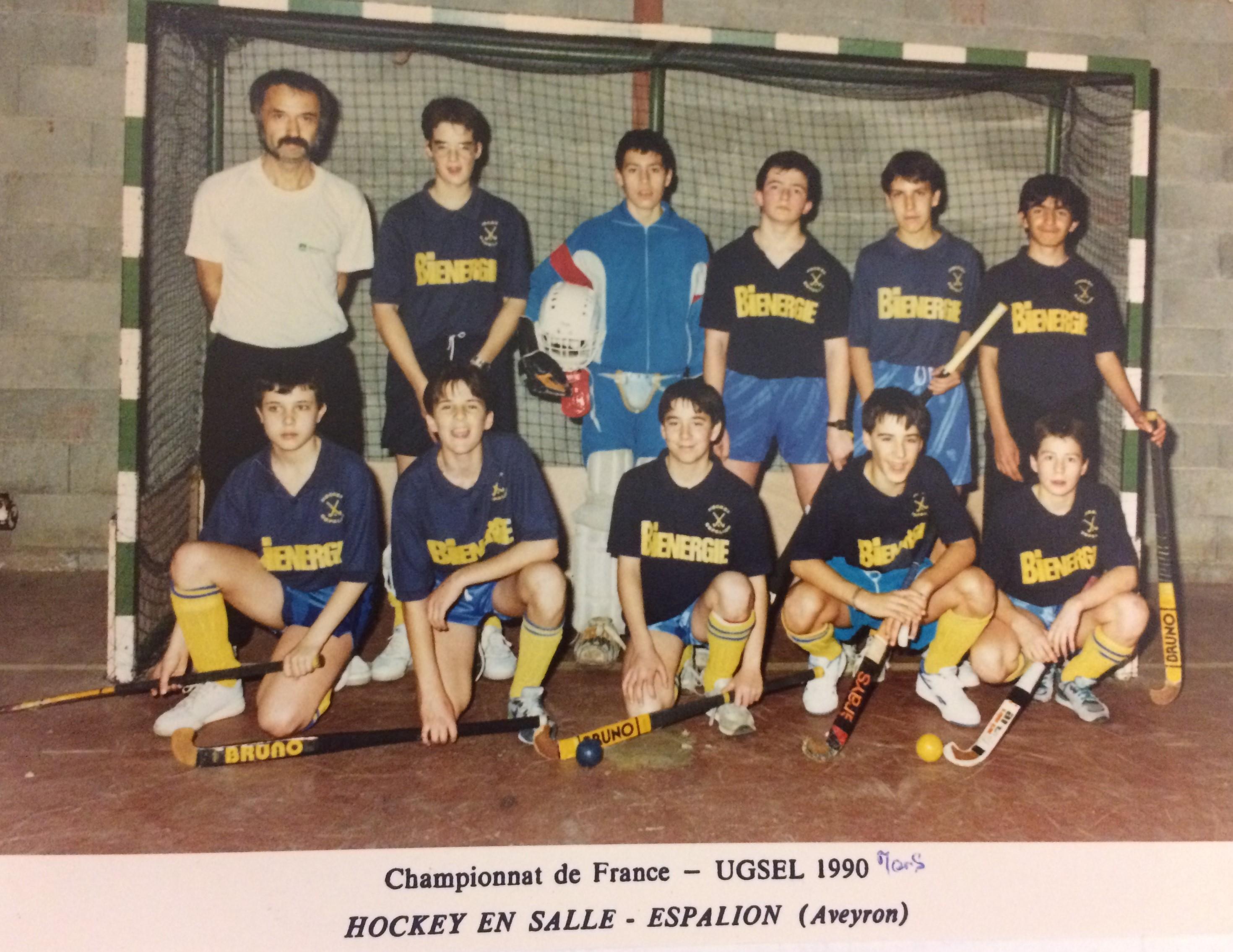 Ch.France UGSEL 1990