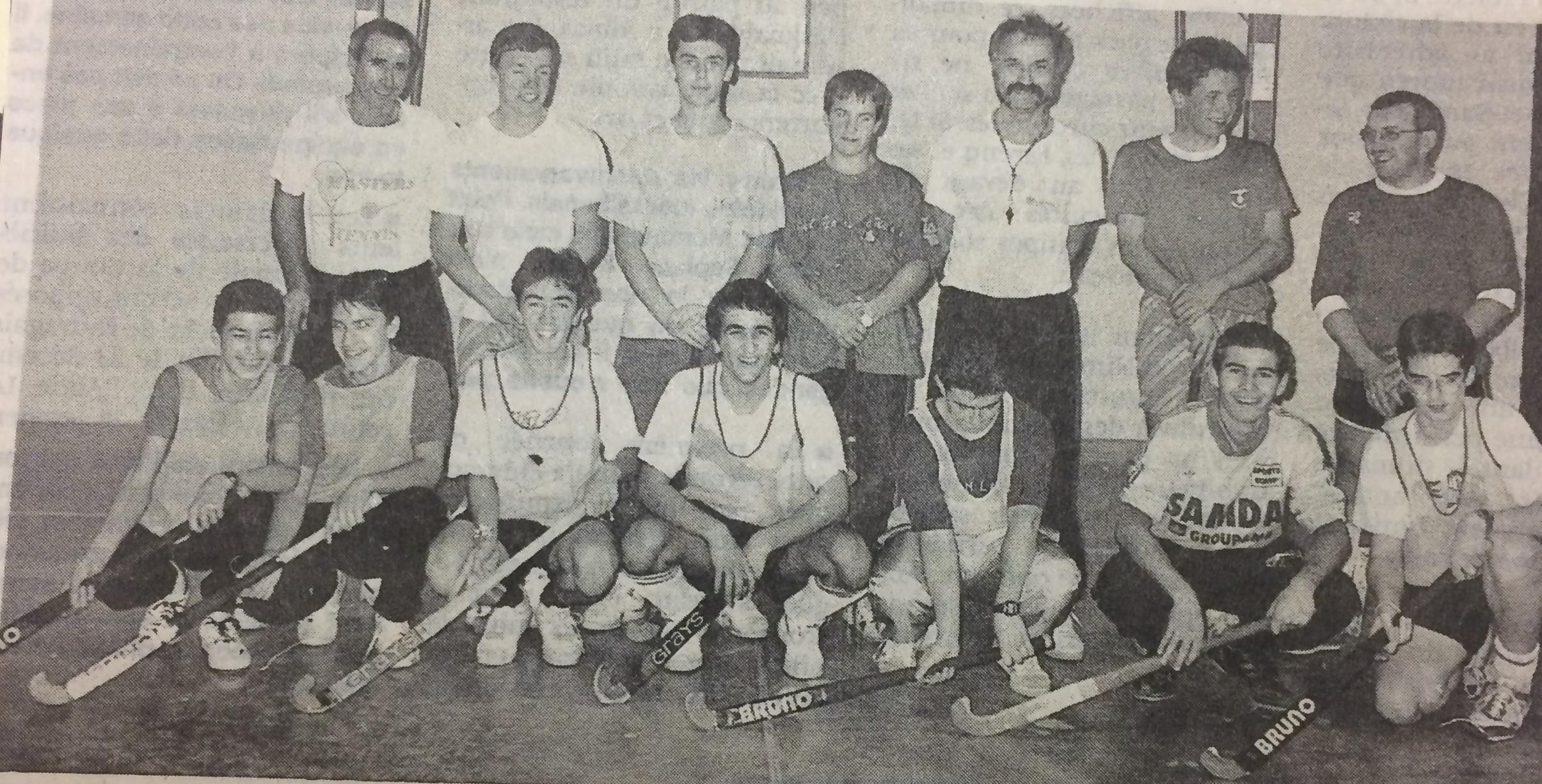 Juniors-Anciens 1990