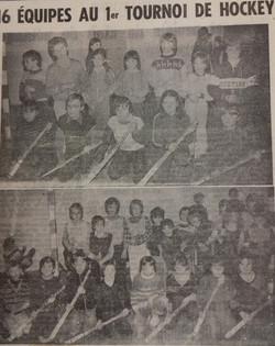 1et Tournoi 1982