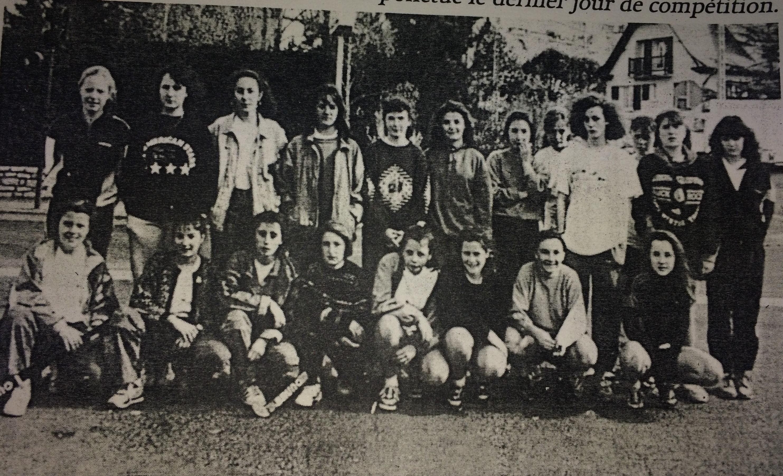 Minimes Filles UGSEL-1990