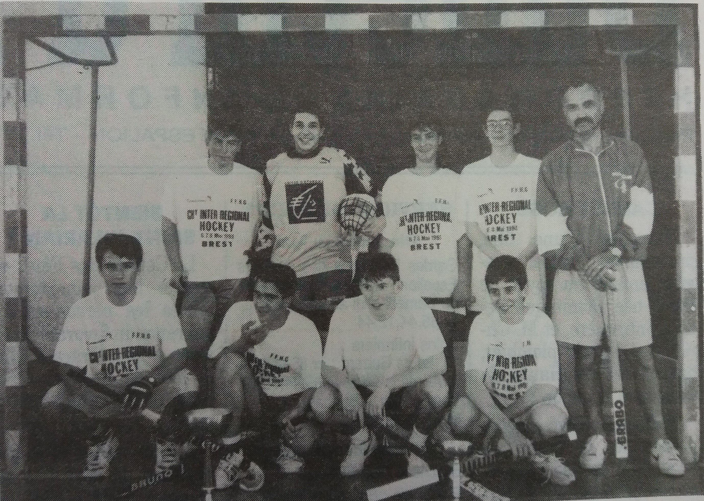 Cadets UGSEL-Brest 1993