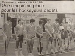 Ch.France UNSS-Cadet 5è-1988