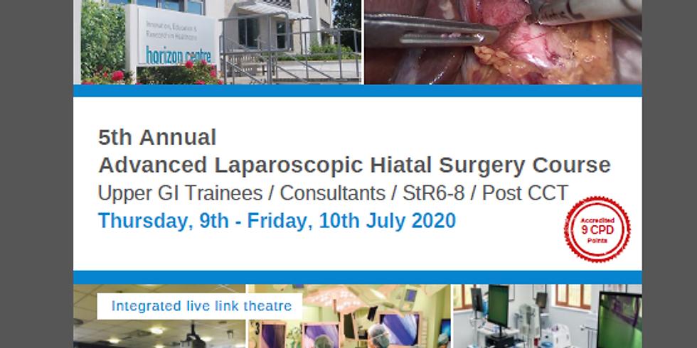 POSTPONED Advanced Laparoscopic Hiatal Surgery Course