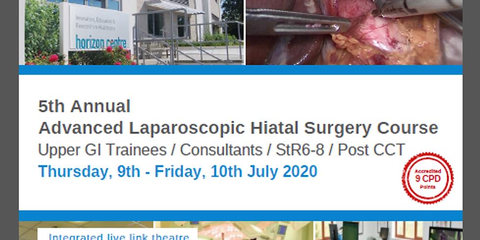5th Annual Advanced Laparoscopic Hiatal Surgery Course POSTPONED