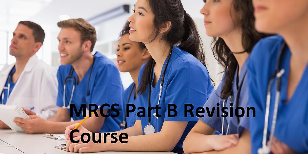 MRCS part B revision course