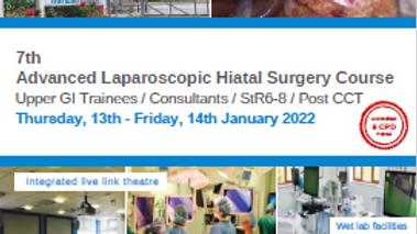 7th Advanced Laparoscopic Hiatal Surgery Course