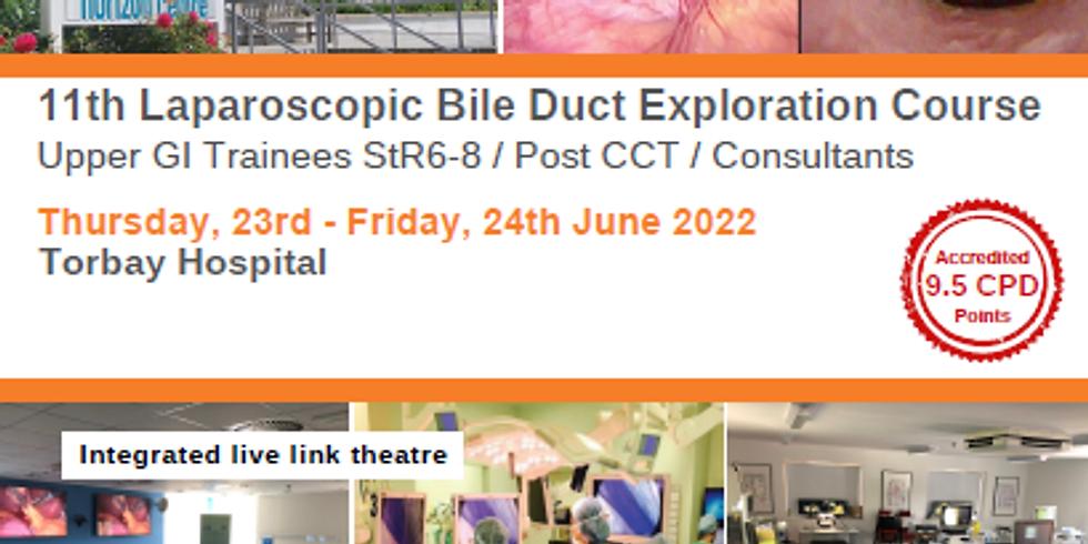 11th Laparoscopic Bile Duct Exploration Course