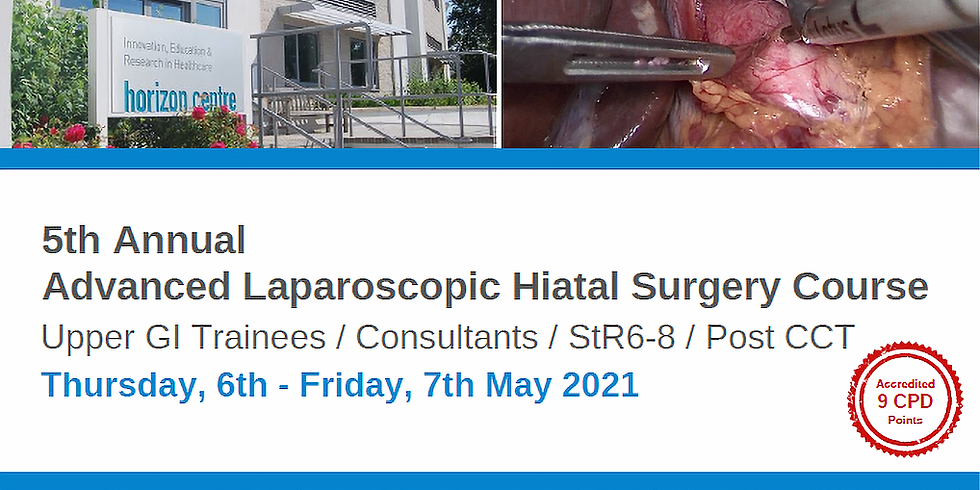 SOLD OUT 5th Annual Advanced Laparoscopic Hiatal Surgery Course
