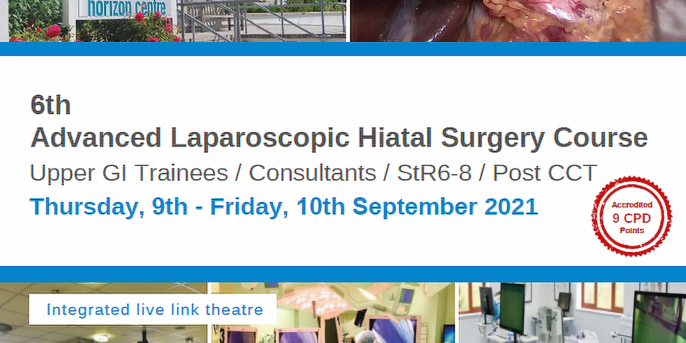 6th Advanced Laparoscopic Hiatal Surgery Course