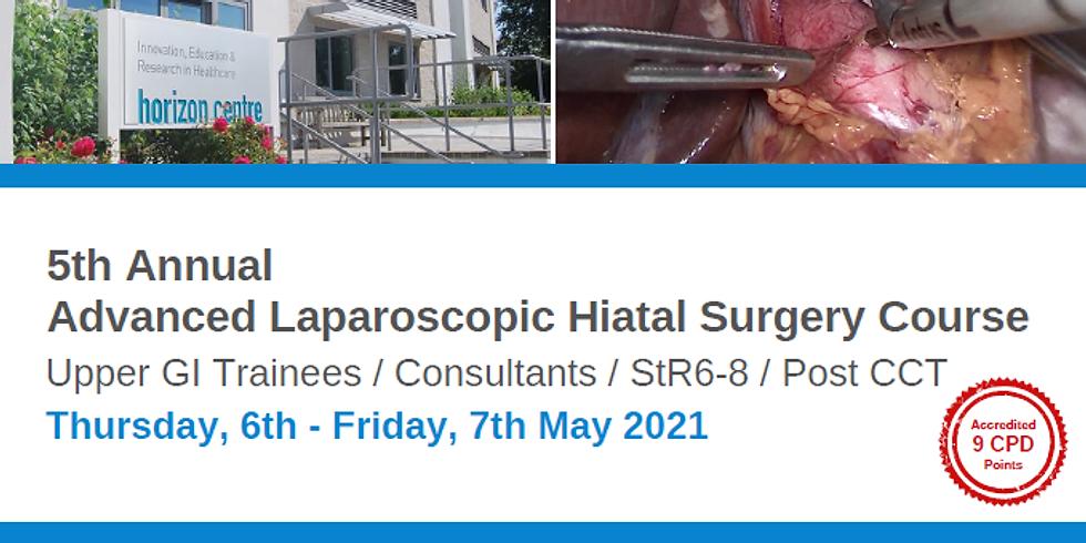 5th Annual Advanced Laparoscopic Hiatal Surgery Course