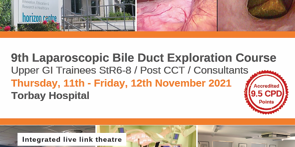 9th Laparoscopic Bile Duct Exploration Course