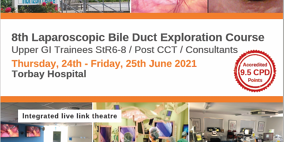 SOLD OUT 8th Laparoscopic Bile Duct Exploration Course