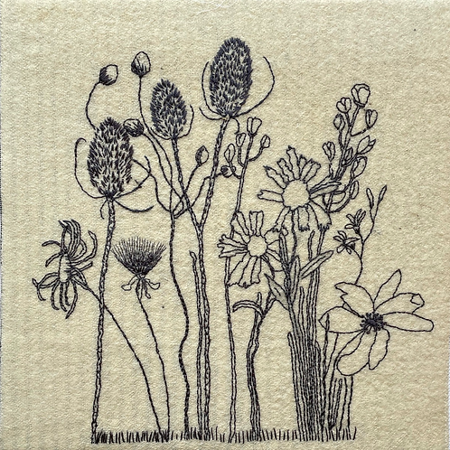 Dried Flowers and Teasels (2018)
