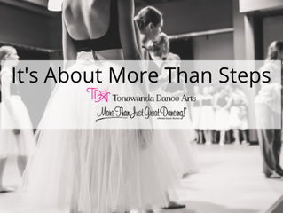 It's About More Than Steps