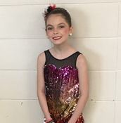Congratulations to Dancer of The Month, Savanah!