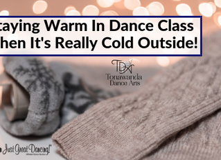 Staying Warm In Dance Class When It's Really Cold Outside!