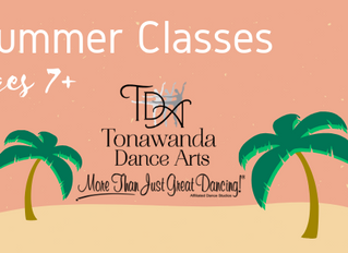 Summer Classes For Ages 7+  |  Tonawanda Dance Arts