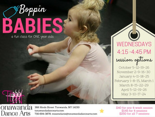 NEW Boppin' Babies Class for ONE Year Olds!