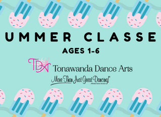 Summer Classes For Ages 1-6 | Tonawanda Dance Arts