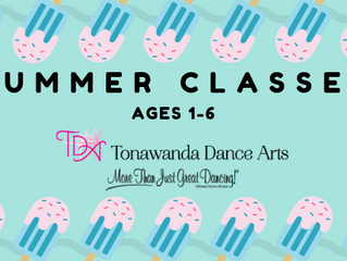 Summer Classes For Ages 1-6 | Tonawanda Dance Arts