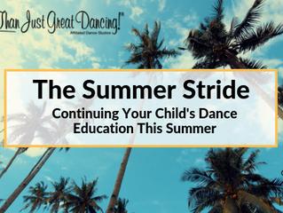 The Summer Stride