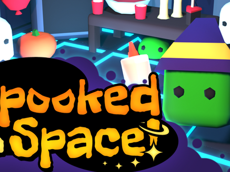 Follow us or get Spooked! In Space!