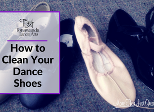 How To Clean Your Dance Shoes