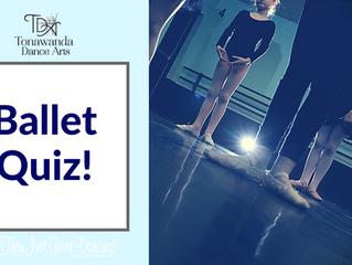 Ballet Quiz!