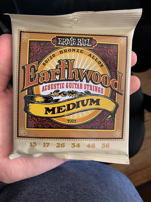 Ernie Ball Earthwood 13-Gauge Acoustic Strings