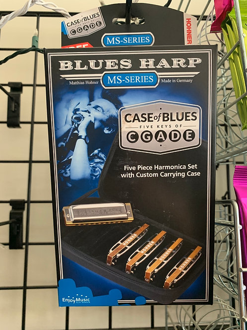 Set of Blues Harp MS Series Harmonicas